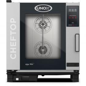Gastronomiczny piec konwekcyjno-parowy UNOX ChefTop Mind.Maps one 7xGN1/1, 9,9 kW