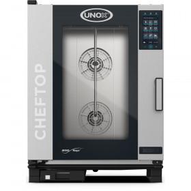 Piec konwekcyjno-parowy UNOX 10xGN1/1 ChefTop Mind.Maps plus 18,5 kW