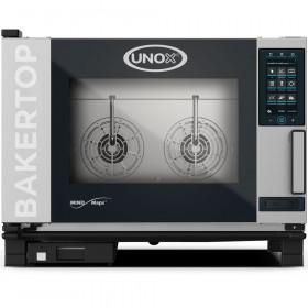 Piec konwekcyjno-parowy piekarski 4x(600x400) UNOX BakerTop Mind.Maps plus 10,6 kW