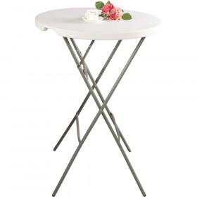 Stół cateringowy barowy składany okrągłu fi 800x1100 Hit