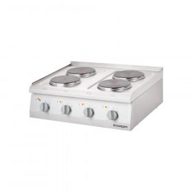 Kuchnia nastawna elektryczna 4 polowa 800x700 10,4 kW