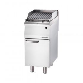 Gastronomiczny grill lawowy gazowy (lava grill) S 400 - G20
