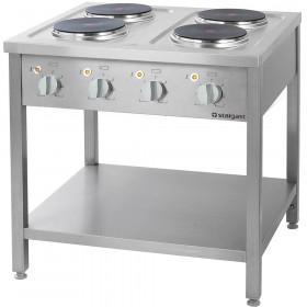 Gastronomiczna Kuchnia elektryczna wolnostojąca 4x2,6 kW