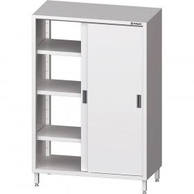 Szafa gastronomiczna do zmywalni, przelotowa,drzwi suwane 800x500x1800 mm