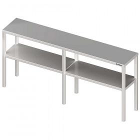 Nadstawka na stół podwójna 1800x300x700 mm