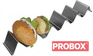 Taca na 3 kanapki ze stali INOX Ikmet
