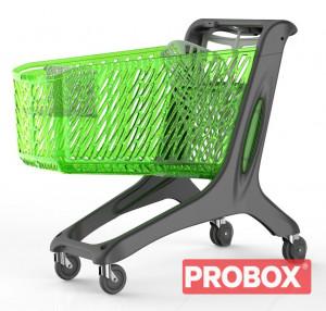 Wózek do sklepu samoobsługowego plastikowy 210 L Rabtrolley