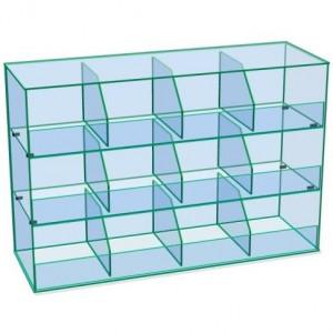 Gablota szklana na cukierki 3 poziomowa