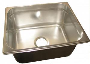 Umywalka - basen HACCP - zlew porządkowy GN 1/1 200; 53-32,5-20 cm