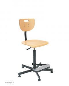 Krzesło obrotowe fabryczne Werek + Foot Base