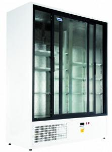 Szafa chłodnicza Mawi SCH 1400 R - drzwi przeszklone przesuwne