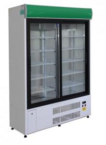Szafa chłodnicza Cebea Bochnia Westa SCh-1-2/800 drzwi przeszklone - 130/57