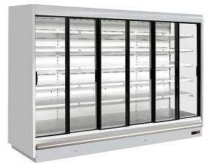Regał chłodniczy Juka PRAGA 385/110 - drzwi przesuwne