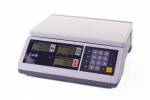 Waga CAS ER Junior 15B (do 15kg) - wyświetlacze w obudowie
