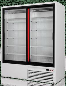 Szafa chłodnicza przeszklona RAPA Sch-Sr 1400 | OD REKI