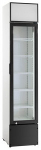 Szafa chłodnicza przeszklona 160l 390x475x1880 mm Resto Quality