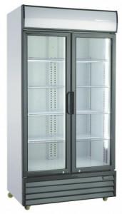 Szafa chłodnicza przeszklona SD1001H 1130x720x2020 mm Resto Quality 1000l
