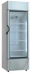 Szafa chłodnicza przeszklona 330l 615x590x1790 mm Resto Quality