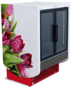 Chłodnicza szafa na kwiaty Igloo Flores
