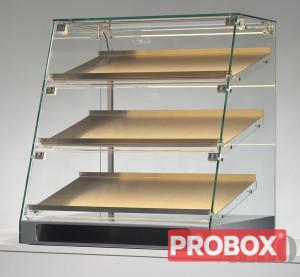 Gablota ekspozycyjna szklana niechłodnicza 59x50x64 cm BFT_001