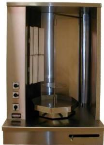 Gastronomiczny Gyros (kebab) elektryczny do 15kg Typ OGE-15KZ Gastro Tar
