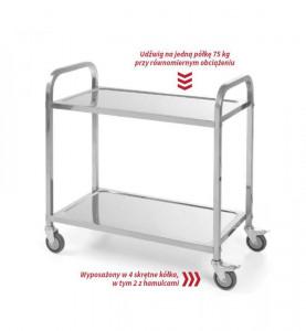 Wózek 2-półkowy cateringowy 810187 Revolution