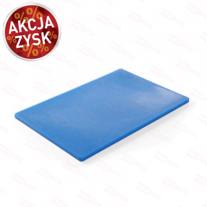 Deska do krojenia HACCP 450x300 niebieska do ryb