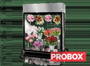 Przeszklona chłodnia do kwiaciarni; na kwiaty Rapa SCh-AK 1600