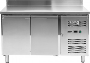 Stół mroźniczy 282 L 1360x700x950 mm 2-drzwiowy Yato Gastro