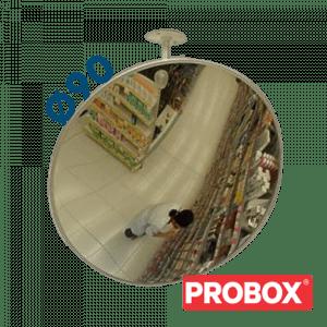 Lustro sklepowe nietłukące akrylowe Ø90 cm
