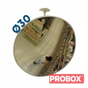 Lustro sklepowe nietłukące akrylowe Ø30 cm