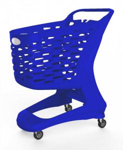 Wózek sklepowy plastikowy MINI Flock 80L Rabtrolley