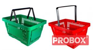 Koszyk sklepowy plastikowy zakupowy 22L - HURT