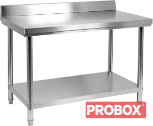 Stół centralny składany z półką 1000x700x850(H) + 100mm
