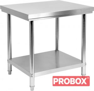 Stół centralny składany z półką 800x700x850(H)