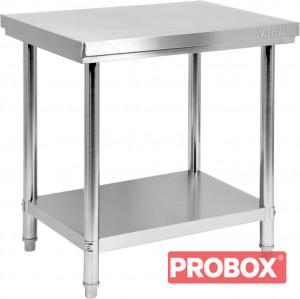 Stół centralny składany z półką 800x600x850(H)