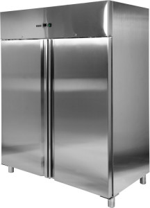 Szafa chłodnicza nierdzewna podwójna 1300L 1480x830x2010 Yato Gastro
