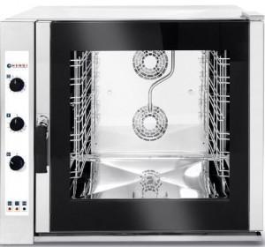Piec gastronomiczny konwekcyjny z zaparowaniem 7xGN1/1, elektryczny, sterowanie manualne