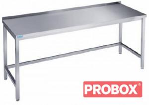 Stół nierdzewny na nogach wzmocniony 100x600x850 (900)mm Rilling-Krosno Metal