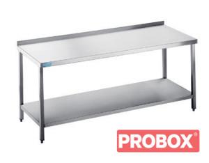 Stół gastronomiczny do pracy z półką 1000x700x850(900) mm
