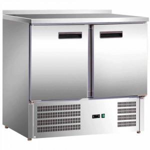 Stół chłodniczy 2 drzwiowy agregat na dole 842029 Stalgast