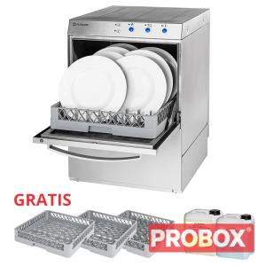 Gastronomiczna zmywarka uniwersalna Stalgast 801505, kosz 50x50 cm
