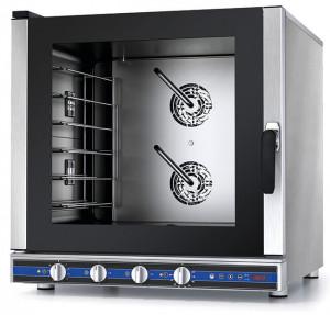 Piec konwekcyjno-parowy manualny z sondą – 6x GN 1/1 lub pojemników piekarniczych