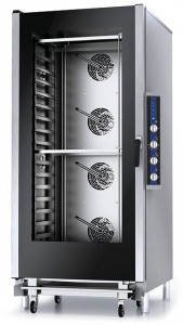 Piec konwekcyjno-parowy manualny z sondą – 16x GN 1/1 lub pojemników piekarniczych