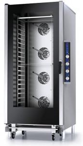 Piec konwekcyjno-parowy manualny z sondą – 20x GN 1/1 lub pojemników piekarniczych