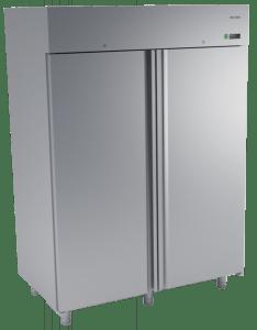 Dwudrzwiowa szafa chłodnicza nierdzewna 1400L