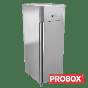 Szafa chłodnicza premium, nierdzewna 520L