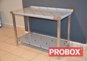 Stół nierdzewny roboczy z półką 1200x600x850 | OD RĘKI