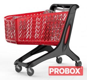 Wózek sklepowy Rabtrolley Maxi Eko 210L