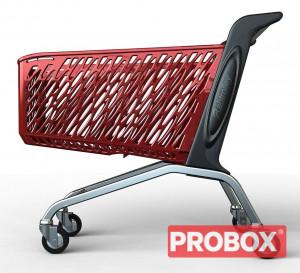 Wózek sklepowy Rabtrolley Maxi Valzer 210L